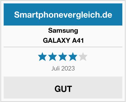 Samsung GALAXY A41 Test