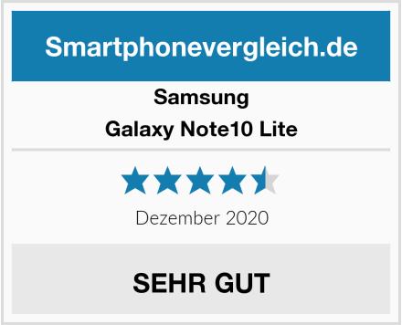 Samsung Galaxy Note10 Lite Test