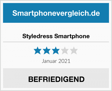 Styledress Smartphone Test