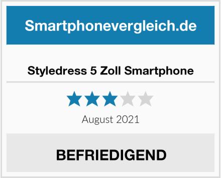 Styledress 5 Zoll Smartphone Test