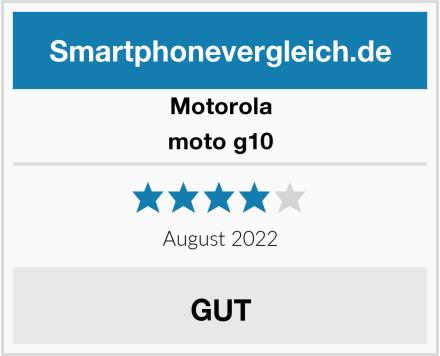 Motorola moto g10 Test
