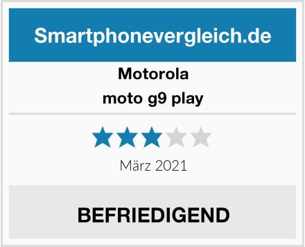 Motorola moto g9 play Test