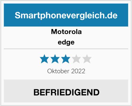 Motorola edge Test