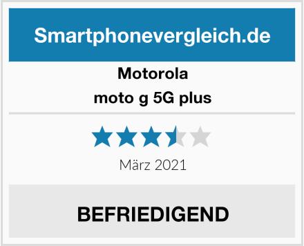 Motorola moto g 5G plus Test