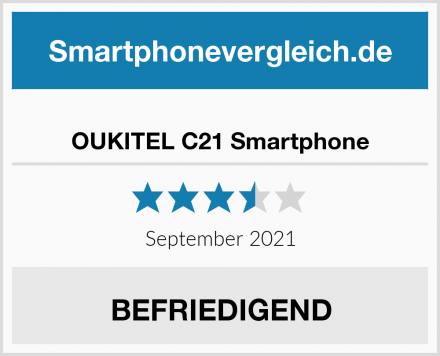 OUKITEL C21 Smartphone Test