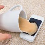 Was tun, wenn das Smartphone nass geworden ist?